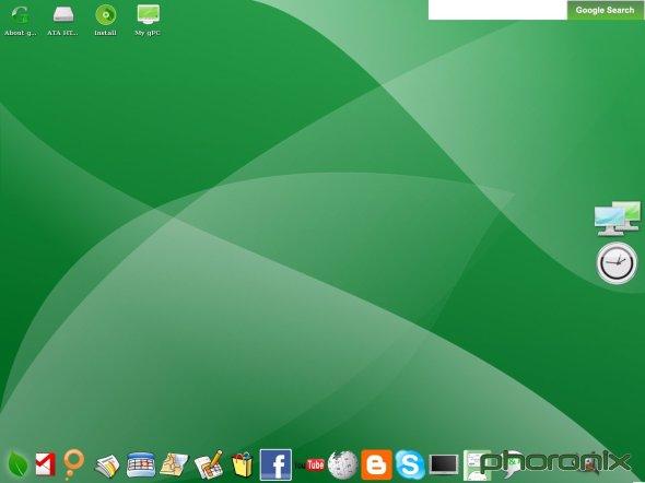 Google OS snapshot