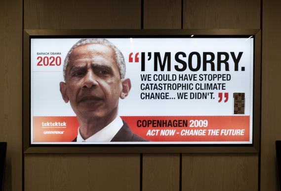 Aged Barack Obama