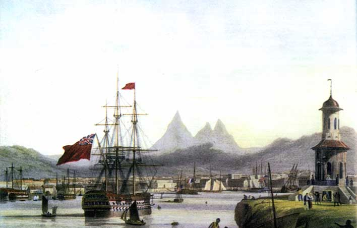Abolition Of Slavery In Mauritius. in Mauritius between 1835