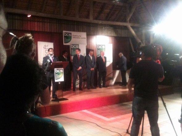 BCS IT Personality Award 2012