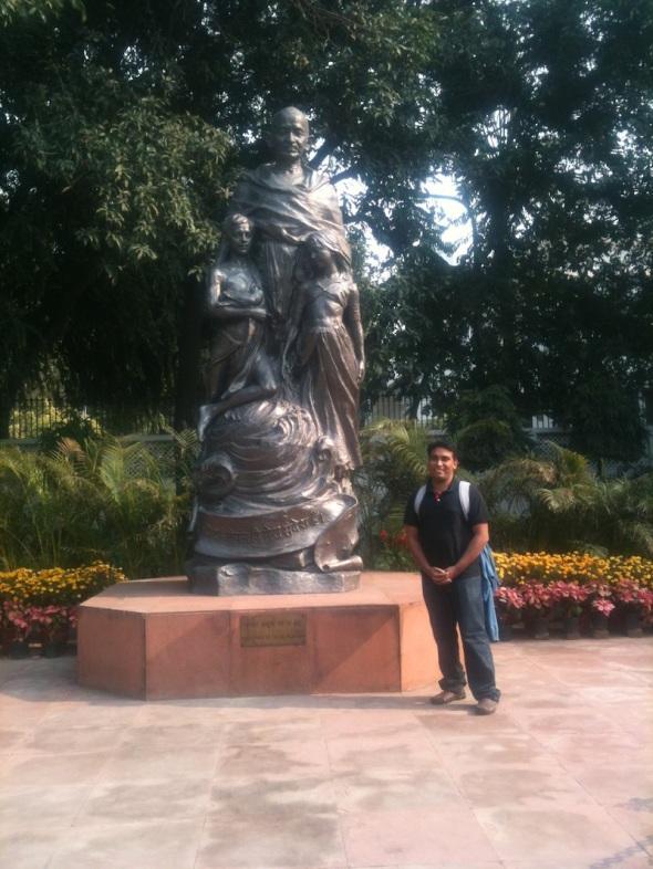 Visit at Gandhi Smriti