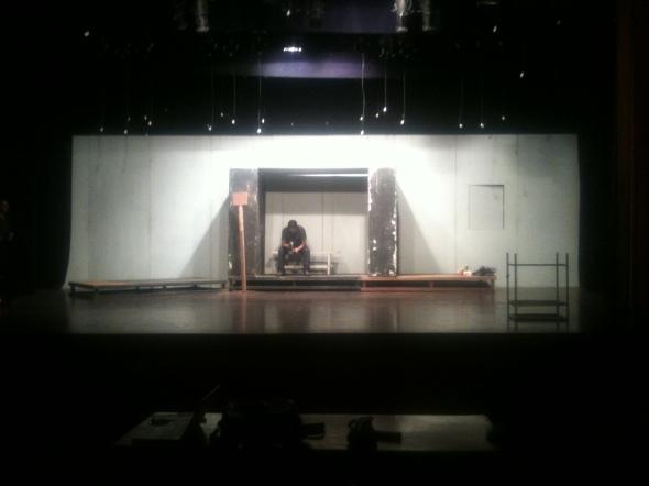 Natak Nahin Stage Rehearsal 2013