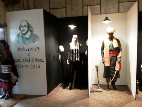 NSD Shakespeare Exhibition