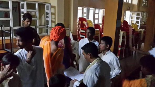 swami vivekananda rehearsal