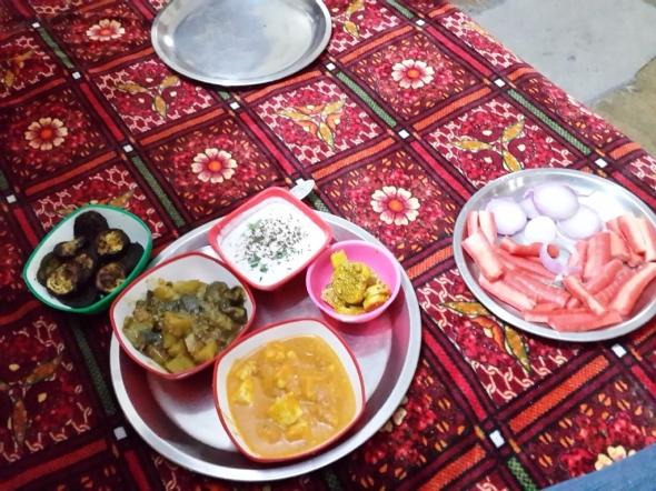 Delhi Lunch