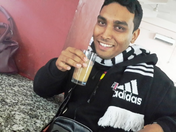 Chai at Jaipur