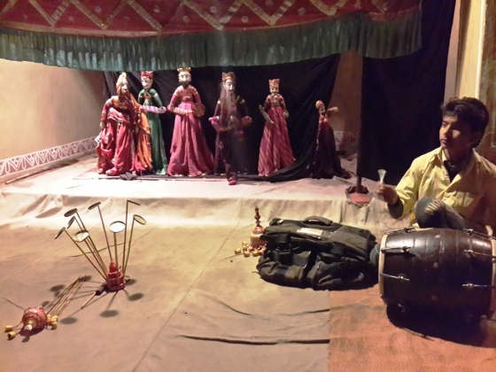 Traditional Rajasthani Puppet Show