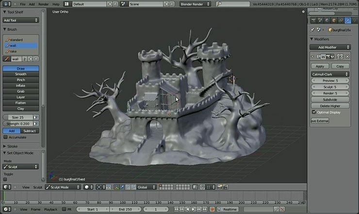 blender animation